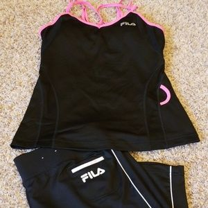 Fila Tops - Awesome Fila Athletic Outfit